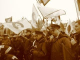 Manifestacja Gdańsk, Kraków - luty 2009
