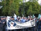 Manifestacja ZZ Sfery Budżetowej - wrzesień 2010
